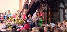 Erntedankgottesdienst mit Kita und Grundschule