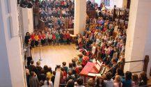 Weihnachtsgottesdienst in der Thomaskirche mit der Grundschule forum thomanum