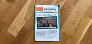 1. Platz für die Schülerzeitung der Grundschule forum thomanum!