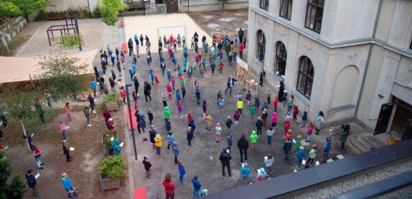 Kita und Grundschule feiern Erntedank-Gottesdienst