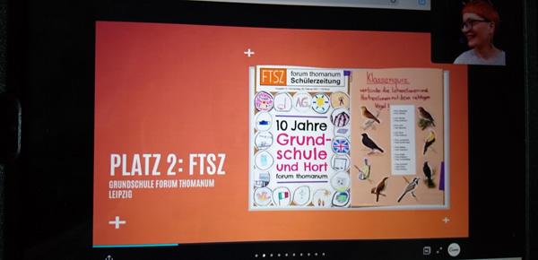 Vier Preise für die Schülerzeitung FTSZ